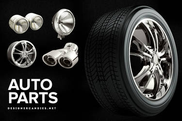The Auto Parts Pack by DesignerCandies