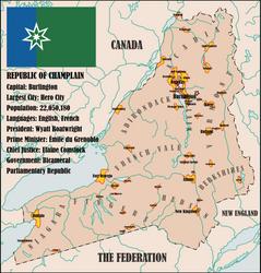 Republic of Champlain by Dain-Siegfried