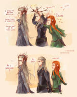 The Hobbit: Twig King by Fiveonthe