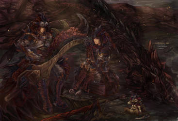 MHFU: The King's Domain by Fiveonthe