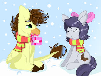 Christmas Gift for GG by FlakyPorcupine1989