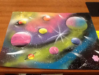 spray paint art request by HighTeck9