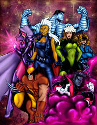 X-men Collab with weaponx5203 by Tesslar