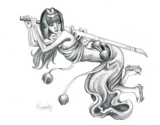 Ninjagirl by Tesslar