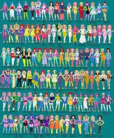 Jem A The Holograms Collection by Tesslar