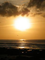 Llandanwg Sunset by VampireBait