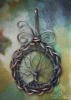 Celtic Tree of Life (VERSION THREE) by RachaelsWireGarden