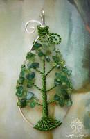 Little Leaf by RachaelsWireGarden