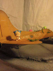 Boeing B-17 x Neko by LummyRuu