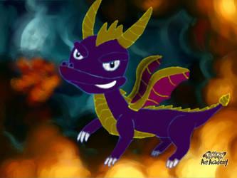 PAA - Spyro the dragon by WidmoMarowak