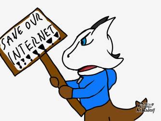 SAVE OUR INTERNET by WidmoMarowak