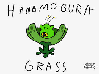 Pokemon Gold Beta - Hanamogura by WidmoMarowak