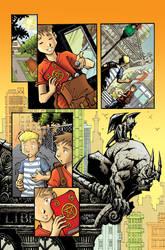 comic page - Servant by LuizFV