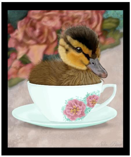 Tea Cup Duck by Neko-Bear