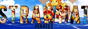 The Strawhat Pirates by junkmaster01