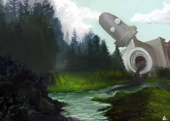 Iron Giant by Obilex