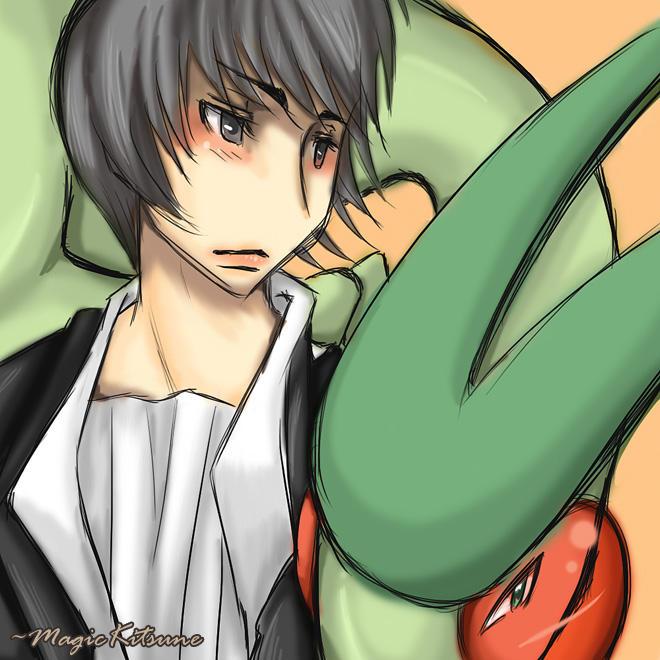 Dragon Tamer Alex by MagicKitsune