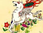Running Sun by MagicKitsune