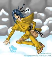 Senri returns by MagicKitsune