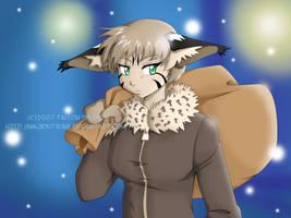 Lynx Girl by MagicKitsune