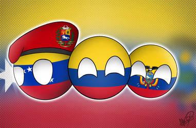 Hermanos Colombia by MonserratCrazy5