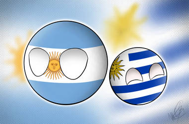 Argentina y Uruguay by MonserratCrazy5