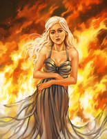 Daenerys Mother of Fire by curry23