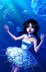 Princess Jellyfish by curry23