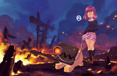 Firestarter by curry23