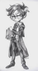 Harry Potter Pencil by curry23