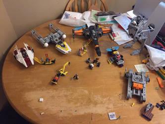 Star Wars Lego by AriesRCN