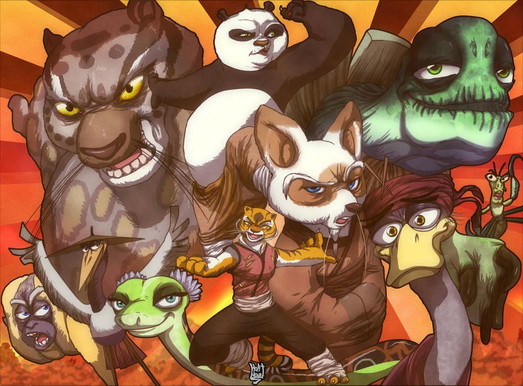 Kung Fu Panda favourites by KeysaMoguri on DeviantArt
