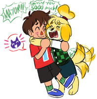 Isabelle's Reunion by KuppaJo