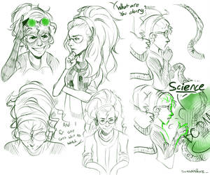 Doc Ock Doodles by swaggypirate