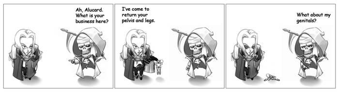 Castlevania SOTN by Bastard-Bill