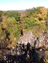 Views of split rock by XxBleedxforxmexX