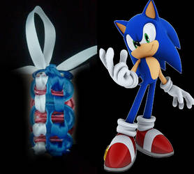 Sonic Pop Tab Bracelet by Juliana-Nasome