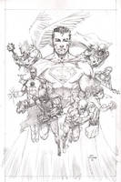 Justice League by Wes-StClaire