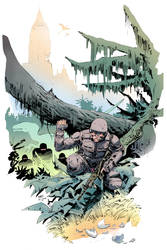 Dino Apocalypse colors by Wes-StClaire
