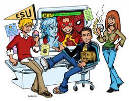 Spider-Friends Crime Lab by BillWalko