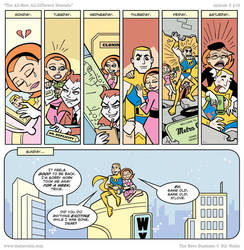 Hero Business: Trixie's Week by BillWalko