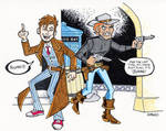 Jonah Meets Doctor Who by BillWalko