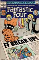 Fantastic Four Break Up by BillWalko