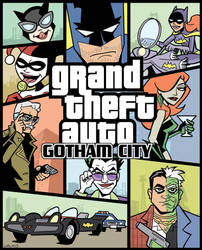 Grand Theft Auto Gotham City by BillWalko