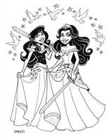 Wonder Princesses by BillWalko