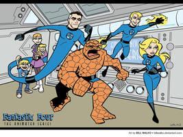 Fantastic Four, Timm Style by BillWalko