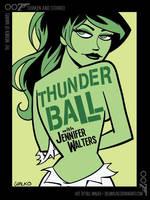 She-Hulk / Shaken and Stirred by BillWalko