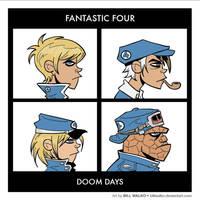 Fantastic Four - Doom Days by BillWalko