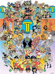 Titans Together by BillWalko