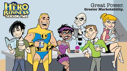 Hero Business: Season Two on Kickstarter by BillWalko